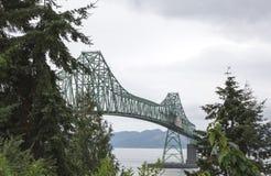 Puente de Astoria-Megler en Oregon Fotografía de archivo libre de regalías