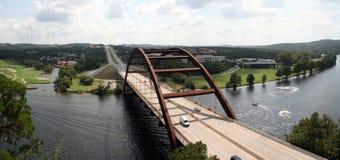 Puente de Austin 360 Fotos de archivo libres de regalías