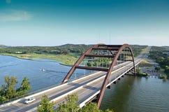 Puente de Austin 360 Imagenes de archivo