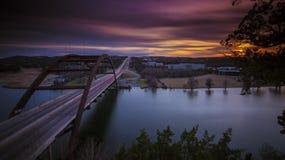 puente 360 de Austin, TX Fotografía de archivo libre de regalías