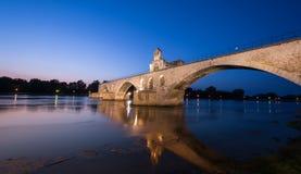 Puente de Aviñón Foto de archivo libre de regalías