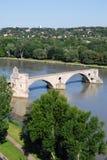 Puente de Aviñón, Francia Fotografía de archivo libre de regalías