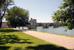 Puente de Avignon Fotografía de archivo