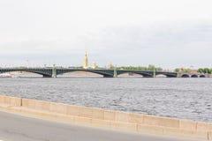 Puente de báscula de la trinidad Fotos de archivo libres de regalías