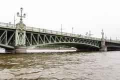 Puente de báscula de la trinidad 2 Fotografía de archivo