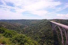 Puente de Bacunayagua Imagem de Stock