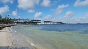 Puente de Bahía Honda imagenes de archivo