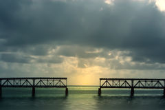 Puente de Bahía Honda Imágenes de archivo libres de regalías