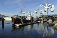 Puente de balanza, Victoria, Columbia Británica, Canadá Fotografía de archivo libre de regalías