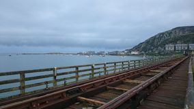 Puente de Barmouth Imagen de archivo libre de regalías