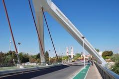 Puente de Barqueta, Sevilla fotografía de archivo libre de regalías