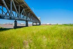 Puente de Baton Rouge Imagen de archivo libre de regalías