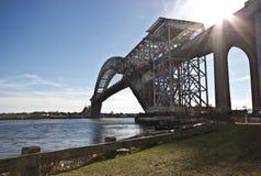 Puente de Bayona Fotos de archivo