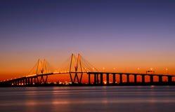 Puente de Baytown Foto de archivo libre de regalías