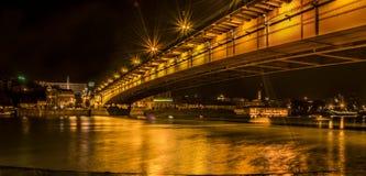 Puente de Belgrado Imagenes de archivo
