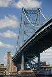Puente de Ben Franklin Imagen de archivo libre de regalías