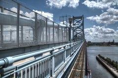 Puente de Ben Franklin Fotos de archivo