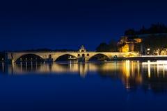 Puente de Benezet del santo Fotografía de archivo