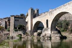 Puente de Besalu imagen de archivo