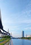 Puente de Bhumibol Imagenes de archivo
