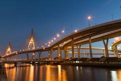 Puente de Bhumibol Imagen de archivo
