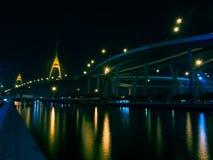 Puente 2 de Bhumibol Fotografía de archivo libre de regalías