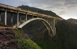 Puente de Bixby Imagenes de archivo
