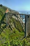 Puente de Bixby - Sur grande - California Imagen de archivo libre de regalías