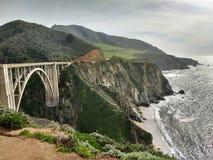 Puente de Bixby - Sur grande - California imágenes de archivo libres de regalías
