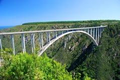 Puente de Bloukrans, Suráfrica Fotografía de archivo
