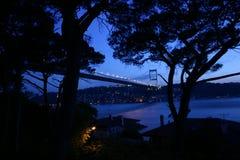 Puente de Bosphorous Fotografía de archivo libre de regalías
