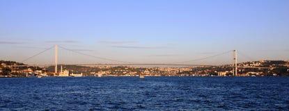 Puente de Bosphorus Imagenes de archivo