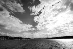 Puente de Bosphorus fotos de archivo libres de regalías