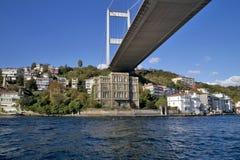Puente de Bosphorus, Estambul, Turquía Imagen de archivo libre de regalías