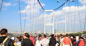 Puente de Bosporus Foto de archivo libre de regalías