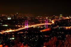 Puente de Bosporus Estambul Imagen de archivo