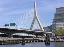 Puente de Boston Imagen de archivo libre de regalías