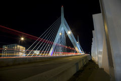 Puente de Boston Zakim   Foto de archivo