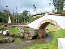 Puente de Boyaca images stock