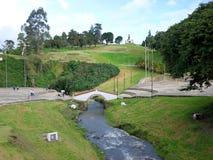 Puente de Boyaca fotografia de stock