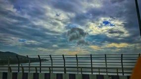 Puente de Brahmaputra foto de archivo libre de regalías