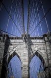 Puente de Brooklin Imágenes de archivo libres de regalías