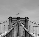 Puente de Brooklyn Fotografía de archivo