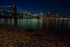 Puente de Brooklyn imagen de archivo
