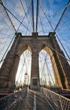 Puente de Brooklyn Foto de archivo libre de regalías