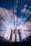 Puente de Brooklyn Imagen de archivo libre de regalías