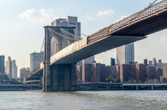 Puente de Brooklyn Imagenes de archivo