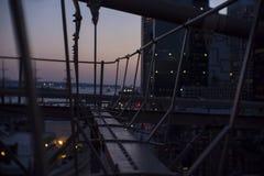 Puente de Brooklyn 2 Fotos de archivo libres de regalías