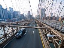 Puente de Brooklyn en Nueva York. Fotos de archivo libres de regalías