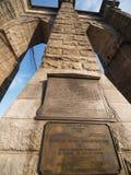 Puente de Brooklyn en Nueva York. Foto de archivo